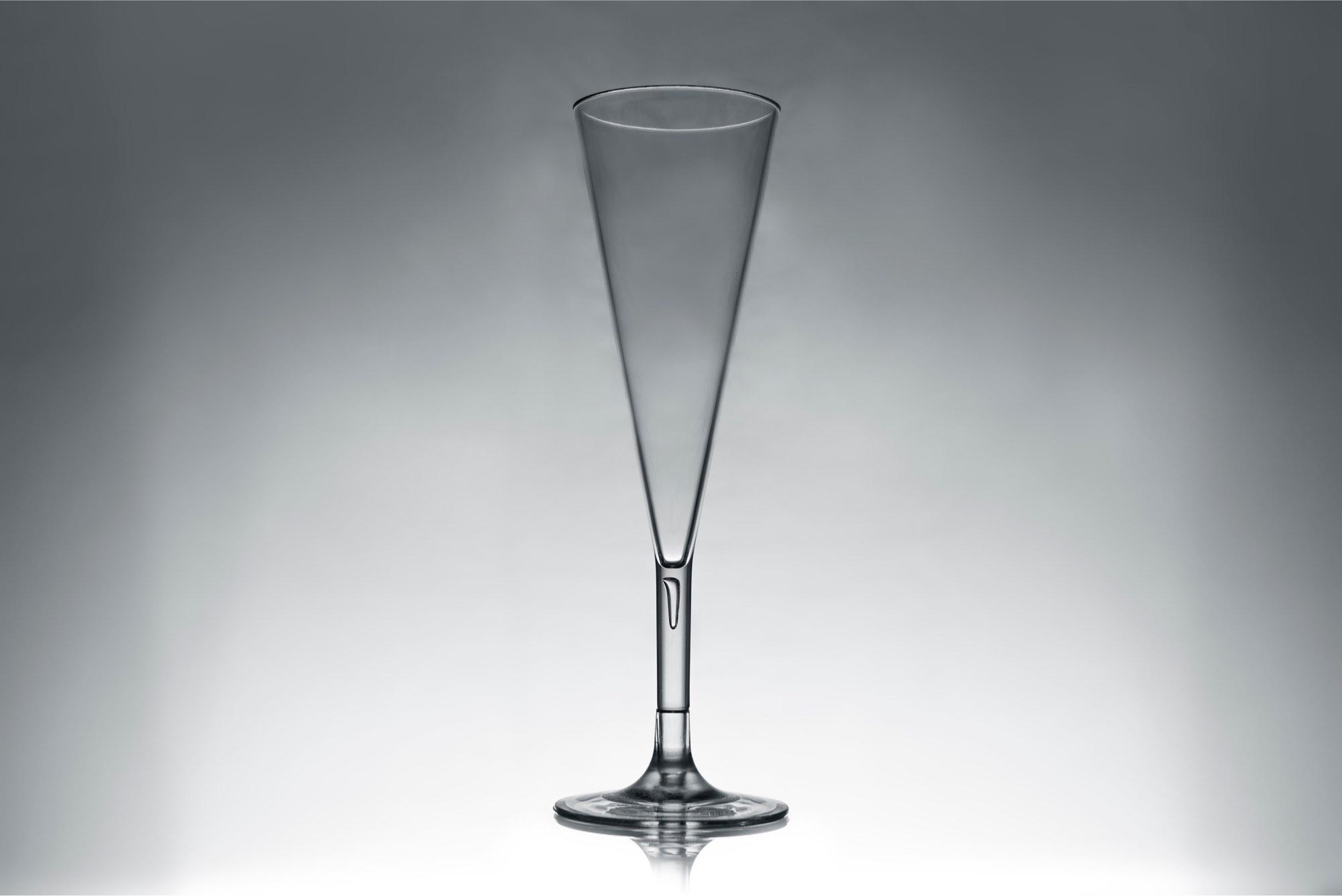 Venus műanyag pezsgős pohár